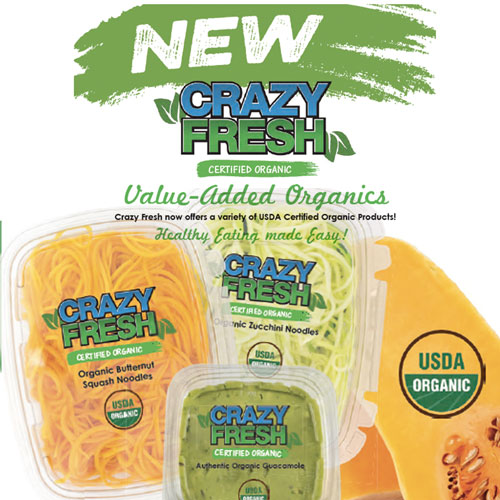 New from Crazy Fresh.  Healthy eating made easy!