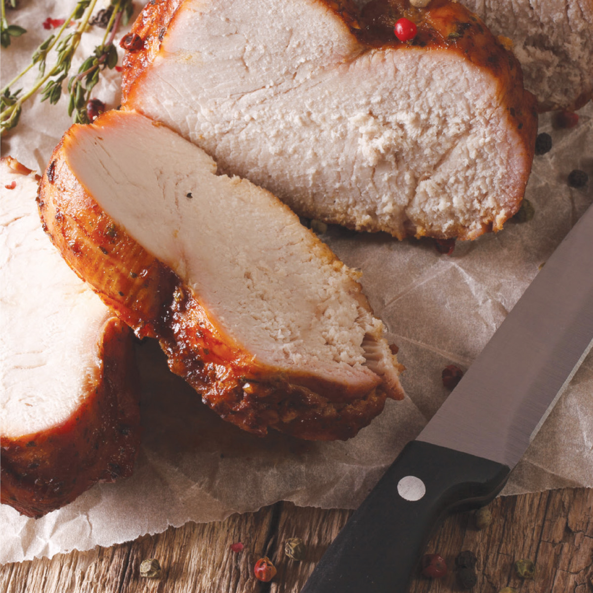 Whole Turkey Breast (frozen) $1.29/lb