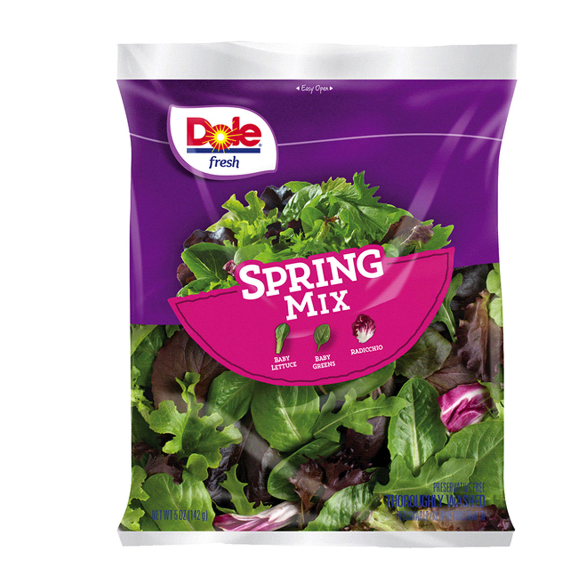 Dole Salad Mixes 5-10 oz. Selected Varieties 2/$5