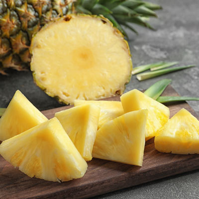 Large Gold Pineapple 2/$5