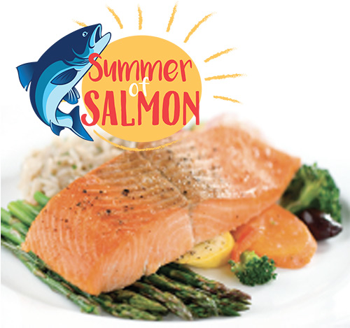 Atlantic Fresh Salmon Fillets $6.99/lb